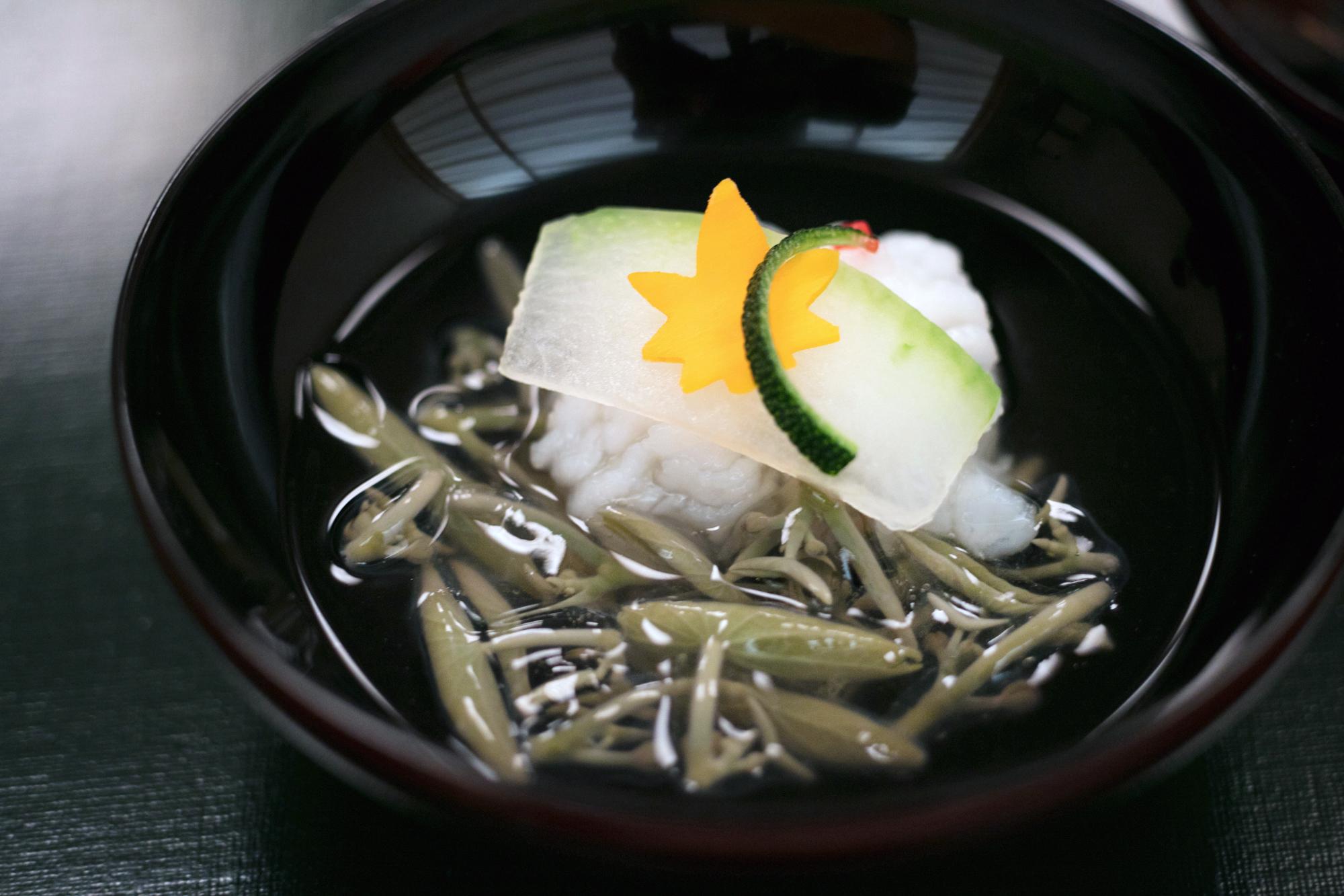 ひとつのお椀が表現する日本の四季