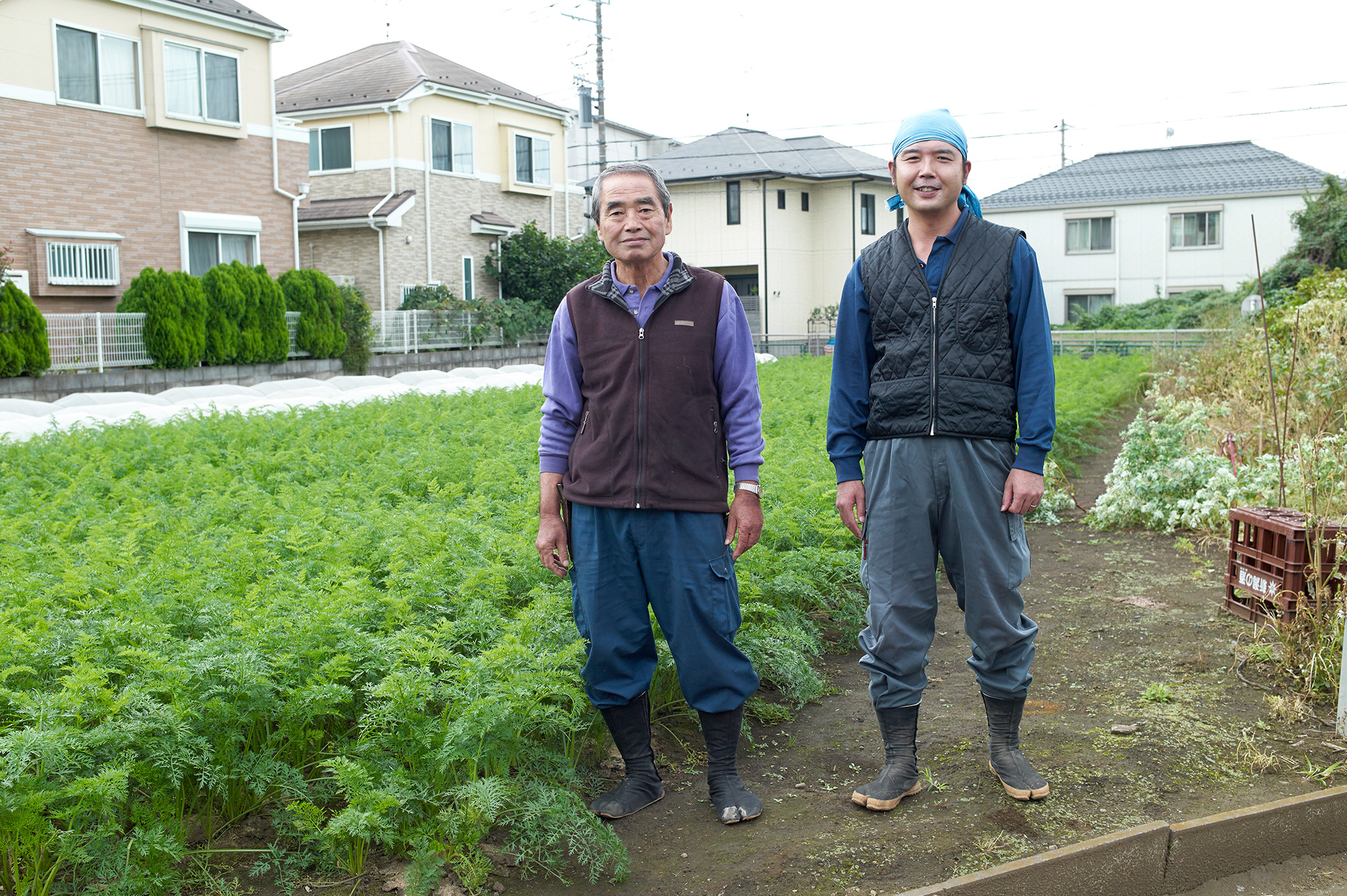 世田谷は東京23区内で農地面積第2位